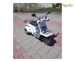 Отменный грузовой скутер Honda Gyro X