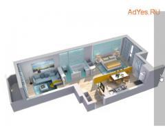 2-к квартира, 63.3 м², 3/15 эт.