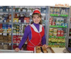 Продавец в продуктовый магазин