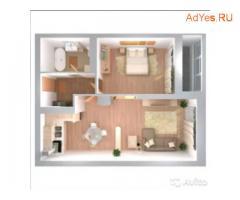 2-к квартира, 52 м², 15/26 эт.