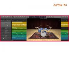 Обучение написанию музыки в программe Logic Pro X