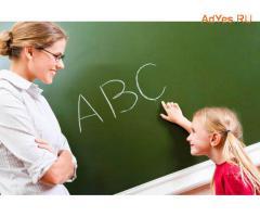 Преподаватель английского языка для детей