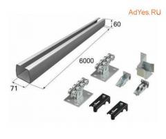 Не платите посредникам! 7500 руб за заводской комплект для изготовления сдвижных ворот! В наличии!