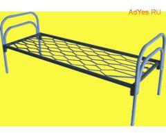 Долговечные кровати металлические для строителей в бытовки