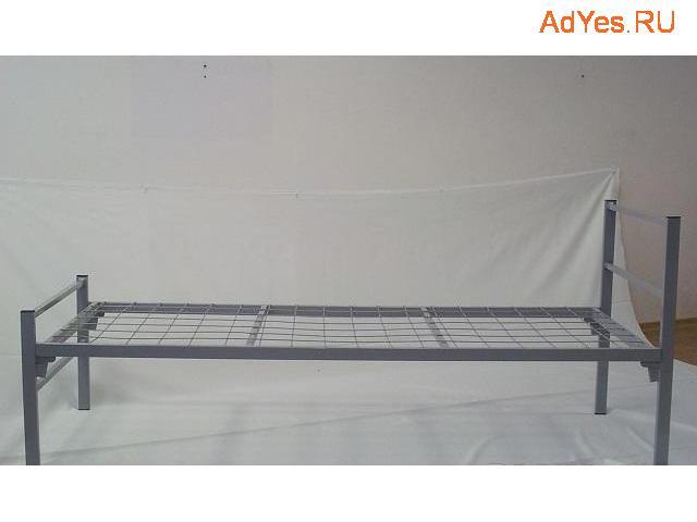 Одноярусные кровати металлические эконом класса