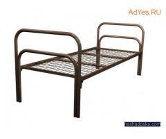 Бюджетные кровати металлические со сварной сеткой