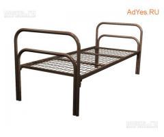 Заказать железные, металлические кровати в бытовки
