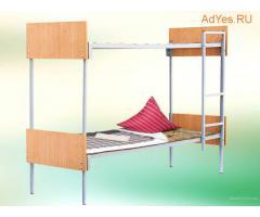 Кровати металлические в детские дома, лагеря, интернаты