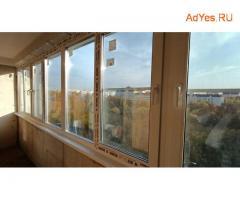 Окна REHAU- остекление,утепление  лоджий.