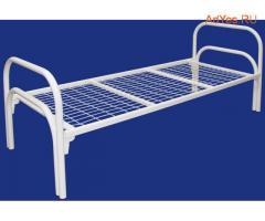 Кровати металлические прочные для дома