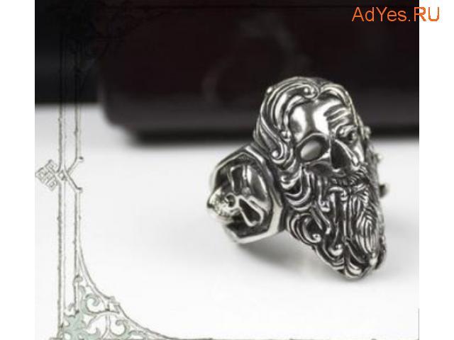 кольцо с черепом пирата Тича