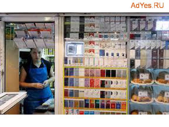 Продавец табачной продукции