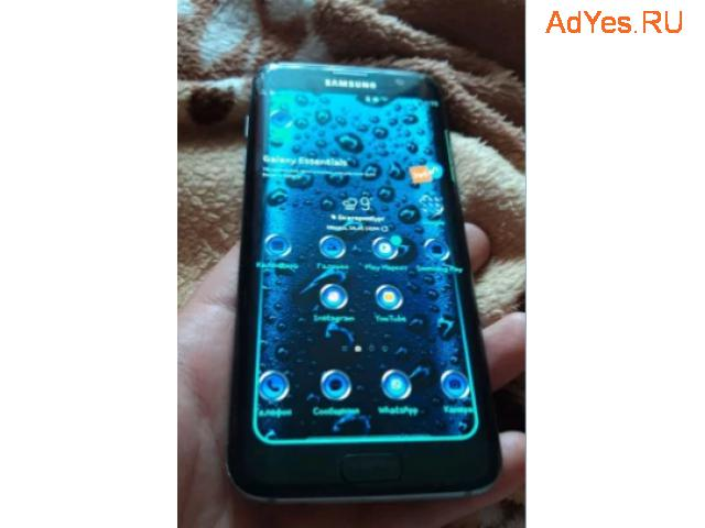SAMSUNG Galaxy S7 edge. Трещина на стекле. Обмен
