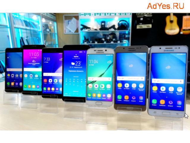 Смартфоны ведущих производителей