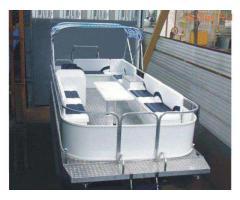 Понтонный катер Турист-720